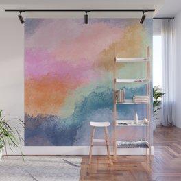 Colorful Fresco Wall Mural