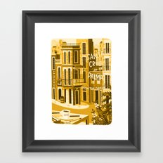 Santa Cruz de la Plama #onthedraw Framed Art Print