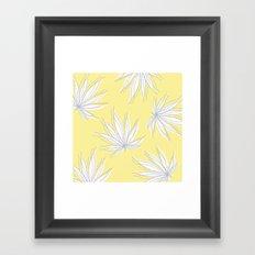 weed Framed Art Print