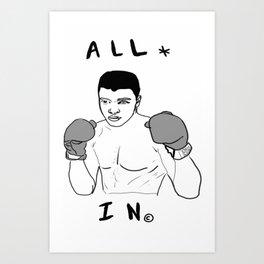 Ali-Boombyeyay Art Print