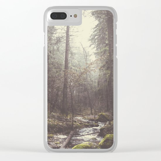 The paths we wander II Clear iPhone Case