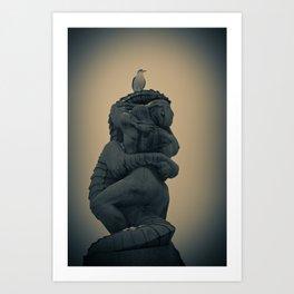 Dread at Vigelandsparken Art Print