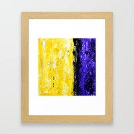 Color Combo #4 Framed Art Print