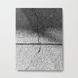 The Image Has Crack'd part 2 Metal Print