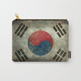 National flag of South Korea, officially the Republic of Korea - Retro style Carry-All Pouch