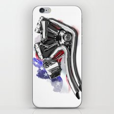 Harley engine  iPhone & iPod Skin