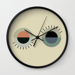 day eye night eye Wall Clock