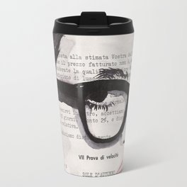 Sole d'autunno - ink drawing Travel Mug