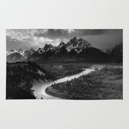 Ansel Adams The Tetons and the Snake River Rug