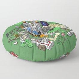 Mine City Floor Pillow