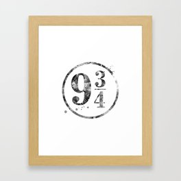 9 3/4 Framed Art Print