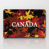 canada iPad Cases featuring Canada by megghan18