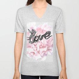 BEAUTIFUL LOVE Unisex V-Neck
