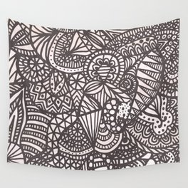 Doodle 10 Wall Tapestry