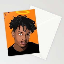 21 Savage Stationery Cards