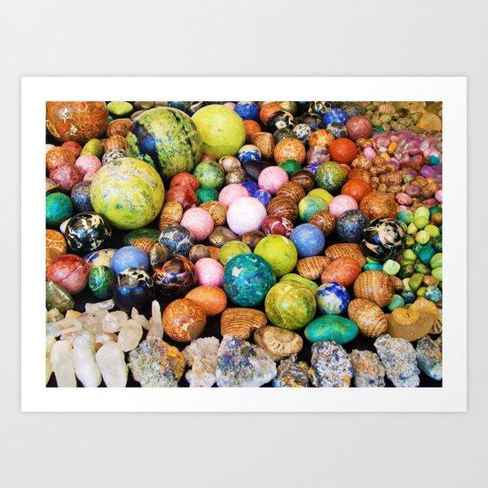 Mineral Beauty Art Print