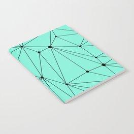 Geometric Mint Notebook