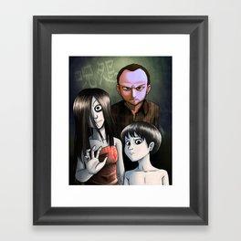 Japanese Family Portrait (呪怨) Framed Art Print