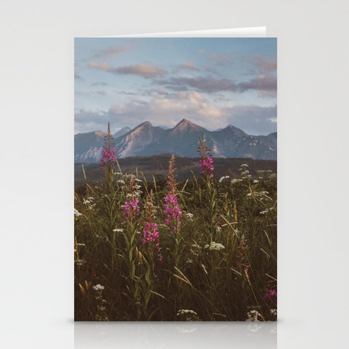 Mountain vibes - Landscape and Nature Photography Stationery Cards