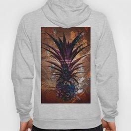 Copper Leaf Pineapple Art #buyart Hoody