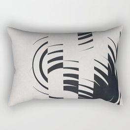 Broken Circles Rectangular Pillow