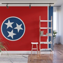 Tennessee State flag Wall Mural