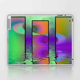 fractal triptych -2- Laptop & iPad Skin