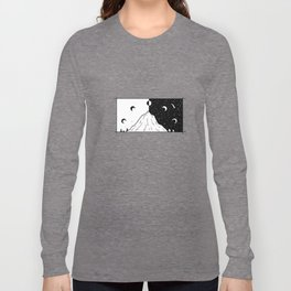 Phases de la lune 2 Long Sleeve T-shirt