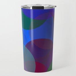 Circulos de colores Travel Mug