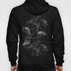 Crow Pattern Hoody
