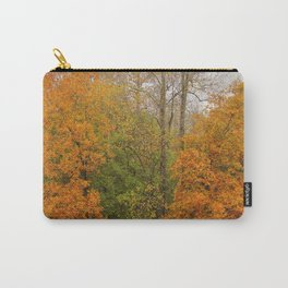 Leaning Into Autumn Carry-All Pouch