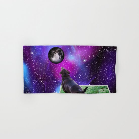 Reaching For The Moon Hand & Bath Towel