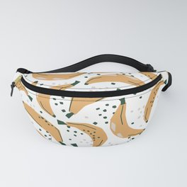 Mid Century Modern Abstract Bananas Jungle Pattern Fanny Pack