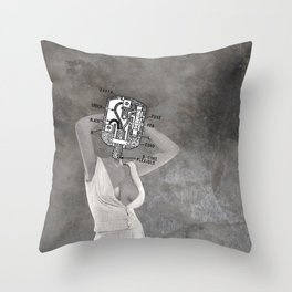 Plugged In Throw Pillow