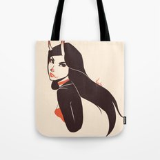 Pretty lady I saw on the street Tote Bag