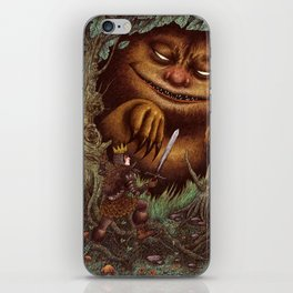 Wilder Things iPhone Skin