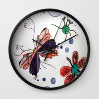 evolution Wall Clocks featuring Evolution by Sharixon