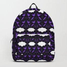 VINT. mandalas black on white Backpack