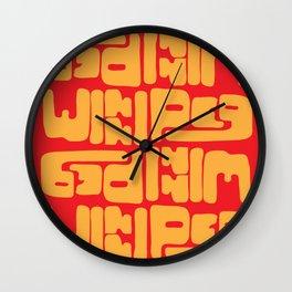 Winnipeg Wall Clock