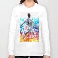 ronaldo Long Sleeve T-shirts featuring Ronaldo by Cr7izbest