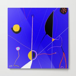 A JOAN MIRO YOU CAN ACTUALLY AFFORD (The Wound) Metal Print