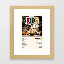 Mac Miller - KIDS - Mixtape Cover - Poster Print Wall Art, Custom Poster, Home Decor Unframed Framed Art Print