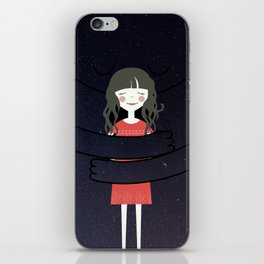 The Universe loves You iPhone Skin