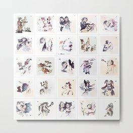 Collection 25 ~ Los Caprichos Metal Print