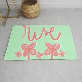 Rise Flowers Rug