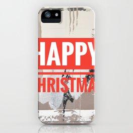 Snowfall - Happy Christmas iPhone Case