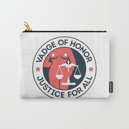 Vadge of Honor Carry-All Pouch