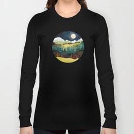 Autumn Moon Long Sleeve T-shirt