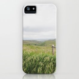 Montana Hilltop iPhone Case