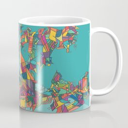 Stained Fractures Coffee Mug
